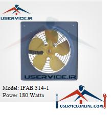 فن آکسیال دیواری ایرانیان فن مدل IFAB 314-1 قدرت 180 وات