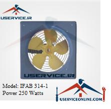 فن آکسیال دیواری ایرانیان فن مدل IFAB 314-1 قدرت 250 وات