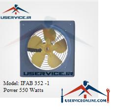 فن آکسیال دیواری ایرانیان فن مدل IFAB 352 -1 قدرت 550 وات