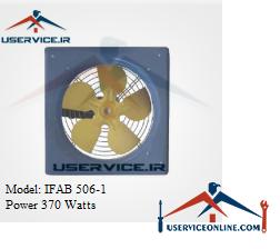 فن آکسیال دیواری ایرانیان فن مدل IFAB 506-1 قدرت 370 وات