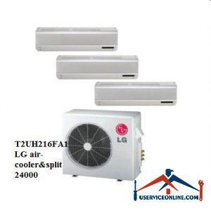 کولر گازی اسپلیت چند پنل ال جی 24000 مدل T2UH216FA1