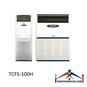 کولر گازی اسپلیت ایستاده تراست 100000 مدل TCFS-100H