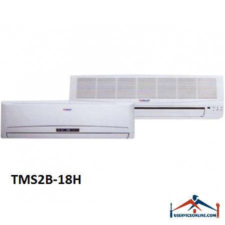 کولر گازی چند پنل اسپلیت تراست 18000 مدل TMS2B-18H