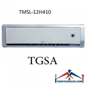 کولر گازی اسپلیت کم مصرف تراست 12000 مدل TMSL-12H410
