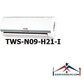 کولر گازی اسپلیت دیواری شرکت تهویه مدل TWS-N09-H21-I