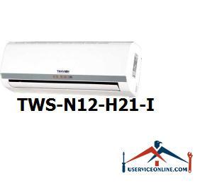 کولر گازی اسپلیت دیواری شرکت تهویه مدل TWS-N12-H21-I