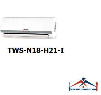 کولر گازی اسپلیت دیواری شرکت تهویه مدل TWS-N18-H21-I