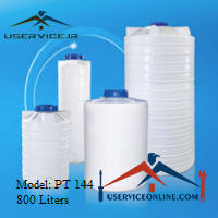 منبع ذخیره عمودی 800 لیتری شرکت آذرپالت مدل PT 144