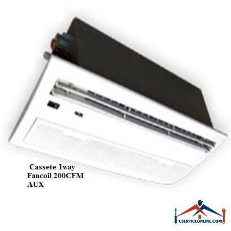 فن کویل AUX کاستی یک طرفه CFM 200