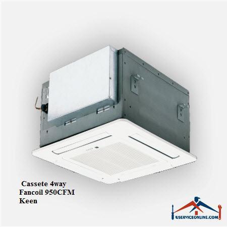 فن کویل کاستی 4طرف کین Keen CFM 950
