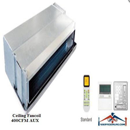 فن کویل AUX سقفی توکار CFM 400
