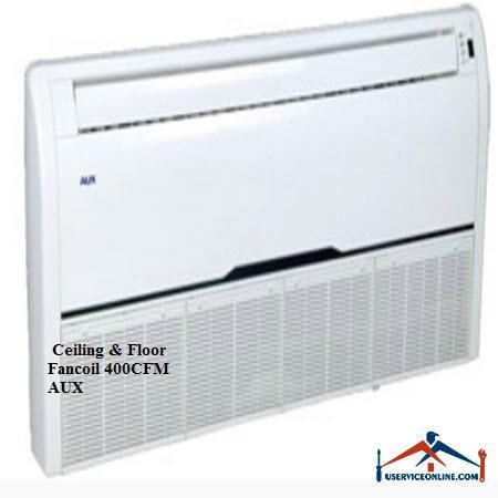 فن کویل AUX سقفی زمینیCFM 400