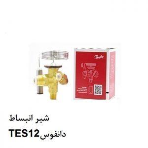 شیر انبساط TES12دانفوس